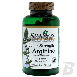 Swanson L-Arginina Forte 900mg - 90 kaps.