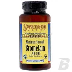 Swanson Bromelina - maksymalna moc - 60 kaps.