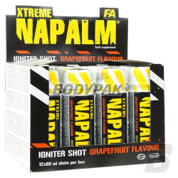 FA Nutrition Xtreme Napalm Shot (60ml) - 12 amp.